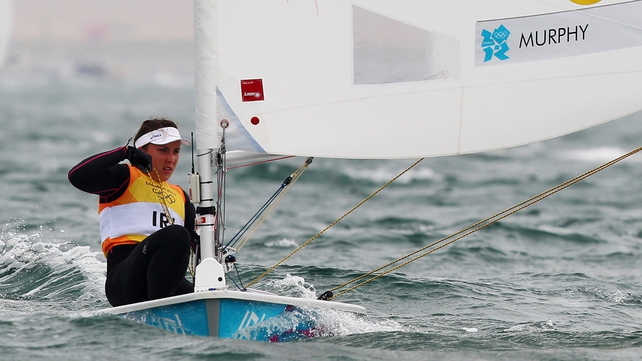 Heartbreak for Murphy after a tremendous week for her in Weymouth