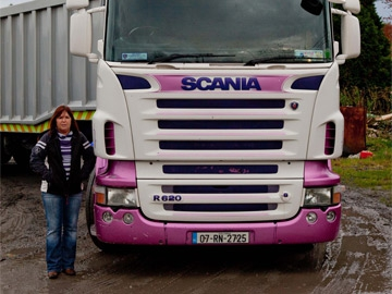 Truckers: Ann McQuaid