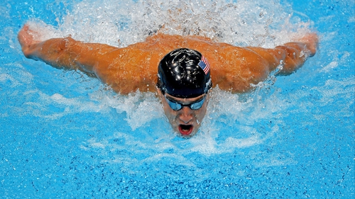 Michael Phelps could only manage seventh in the 100m at the US nationals