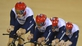 Cycling: British men defend team pursuit gold