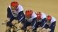 Cycling: British men defend team pursuit gold