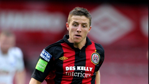 Keith Buckley missed Bohemians' best chance
