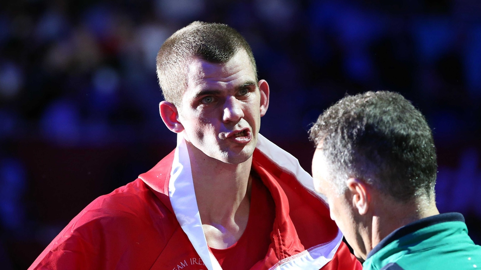 Day 7: Adam Nolan was disappointed to go at the second stage when he was  beaten by Russia's Andrey Zamkovoy