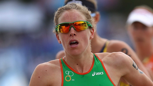 Aileen Reid: 'I'll be travelling with a group of female triathletes and training with them all the time.'