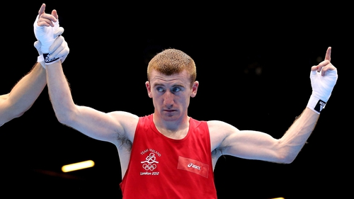 Paddy Barnes wasted no time in dispatching his Kenyan opponent