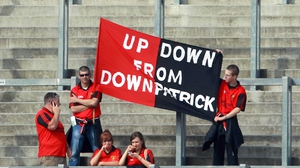 Down supporters were hoping to see their side qualify for the All-Ireland SFC semi-finals