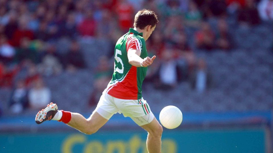 But Jason Doherty's goal put Mayo in the driving seat at Headquarters