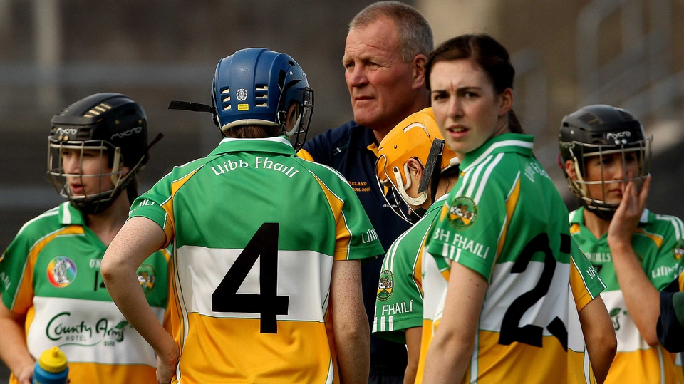 The Camogie players of Offaly enjoyed a 1-13 to 2-09 win over Dublin at Parnell Park