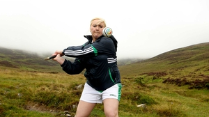 Derry's Maura McAuley was another competitor in the All-Ireland Camogie Poc Fada
