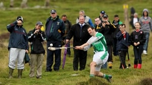 Brendan Cummins was back in Co Louth to defend his Senior title