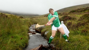 Wexford's Deirdre Colfer watches her puck on the Annaverna Mountain
