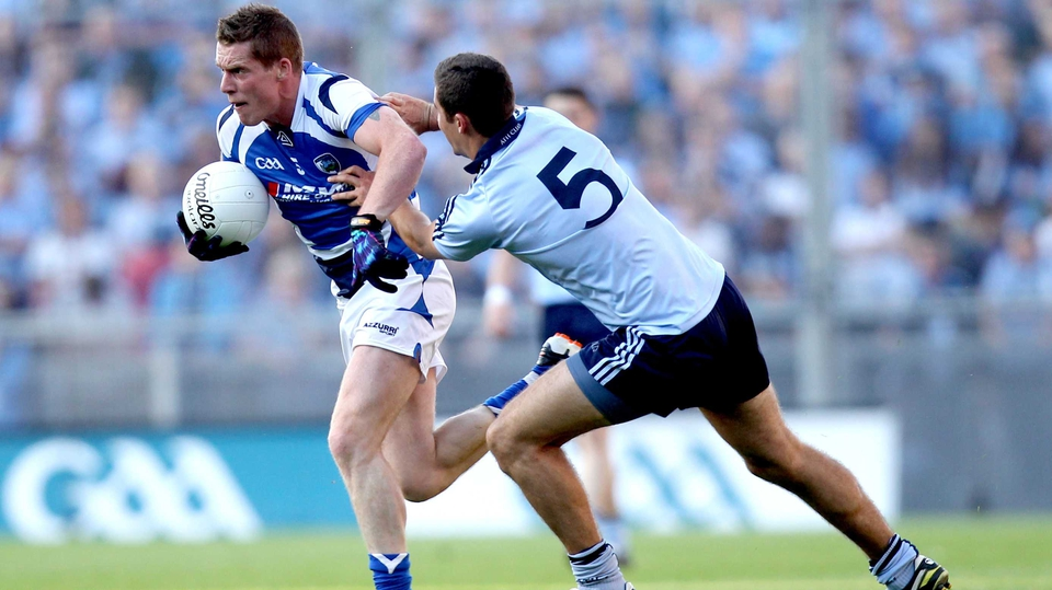 Darren Strong of Laois brushes off James McCarthy