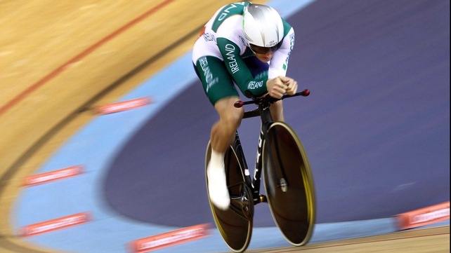 Martyn Irvine competed in the 2012 London Olympics