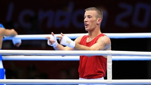 John Joe Nevin is the first Irish competitor to secure a medal