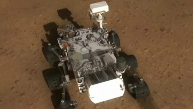 Curiosity is roughly the same size as a Mini Cooper