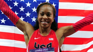 Sanya Richards-Ross took gold in the 400 metres