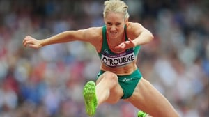 Derval O'Rourke is safely through to the semi-finals of the 100m hurdles after going under 13 seconds for the first time this year