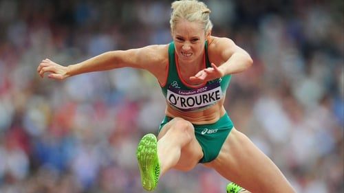 Derval O'Rourke missed out on qualification for the 100m hurdles final after finishing fifth in her semi