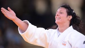 Dutch judoka Edith Bosch took exception to the boorish behaviour of a drunk fan at the Olympic stadium