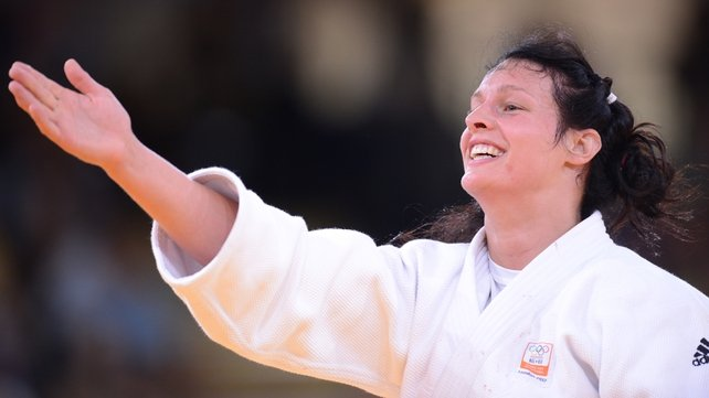 Dutch judoka Edith Bosch took exception to the boorish behaviour of a drunk fan at the Olympic stadium