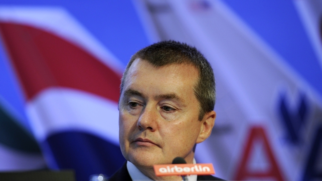 IAG's chief executive Willie Walsh reports improving fortunes for Iberia