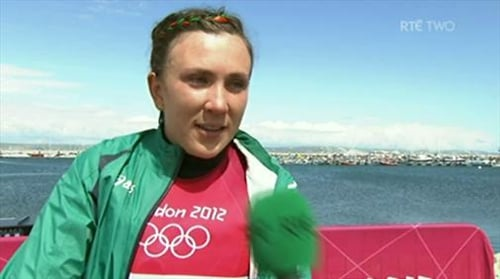 Annalise Murphy secured a second gold medal of the month