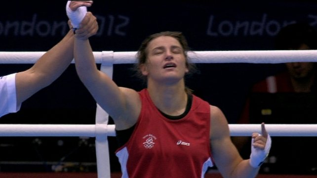 Katie Taylor will fight in the semi-final on Wednesday