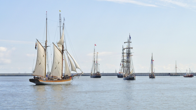 The tall ships are returning to Dublin this August!