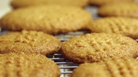 Peanut Butter Cookies - Soft, rich, moist in the middle, slightly crispy around the edges, with that nutty flavor