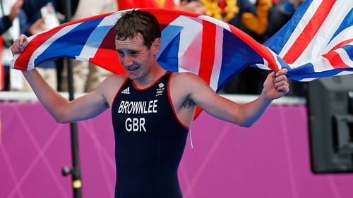 Alistair Brownlee was simply devastating in the triathlon
