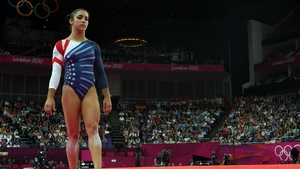Alexandra Raisman has claimed floor gold