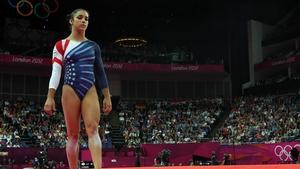 Alexandra Raisman has claimed floor gold