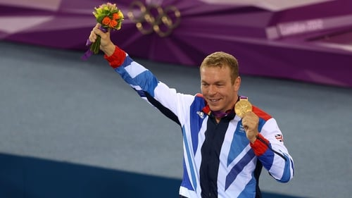 Scotland's Chris Hoy won gold for Great Britain at London 2012