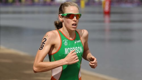 The women's race is on the BBC Red button or triathlonlive.tv on Friday night