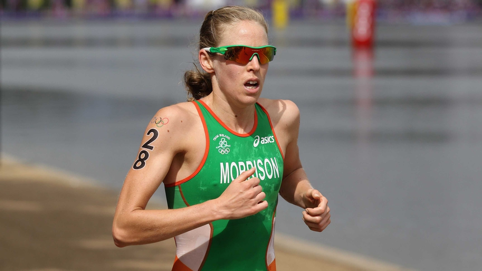 Day 8: Aileen Morrison came 43rd in the women's triathlon