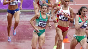 Day 8: Stephanie Reilly came ninth in her women's 3,000m steeplechase heat and failed to advance