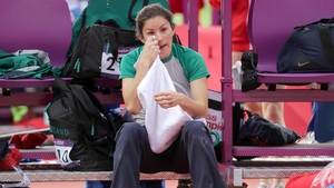 Day 8: Tori Pena failed to record a height in the pole vault