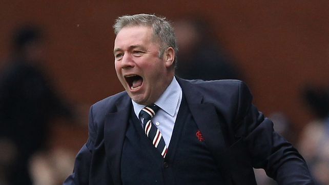 Ally McCoist's side were beaten by Forfar today