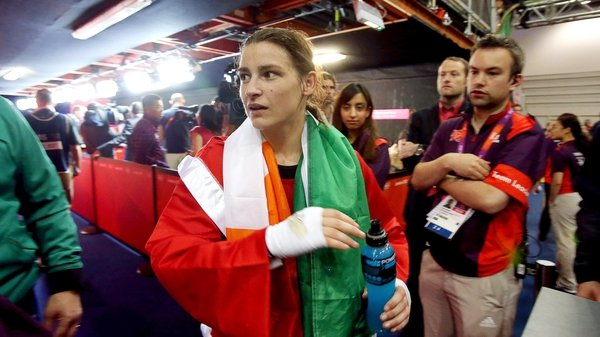 Katie Taylor won 17-9 at the Excel this afternoon