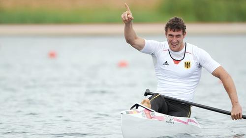 Sebastian Brendel won gold in the men's canoe sprint C1 1,000m