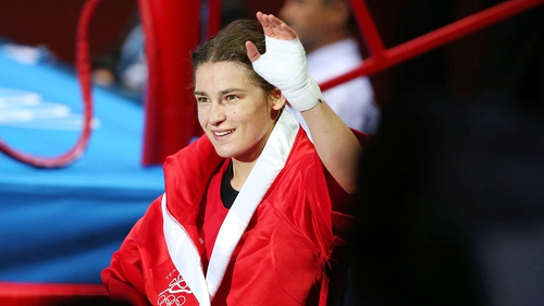 Shay Given was on hand to witness Katie Taylor's victory