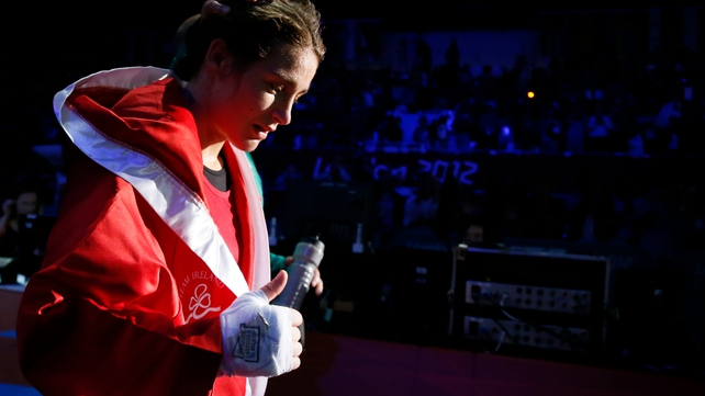 Ireland's golden girl Katie Taylor has turned down big money professional contracts to remain an amateur boxer
