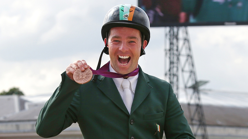 Day 12: Cian O'Connor won bronze for Ireland in the individual jumping event