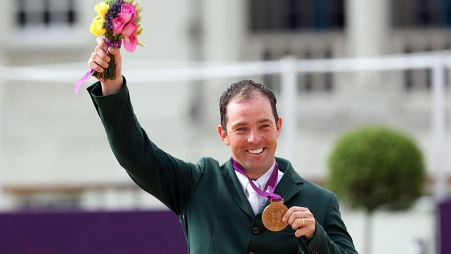 A delighted Cian O'Connor secures Team Ireland's first Olympic medal
