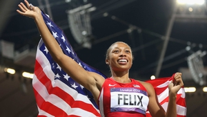 After two second places, Allyson Felix finally won 200m Olympic gold