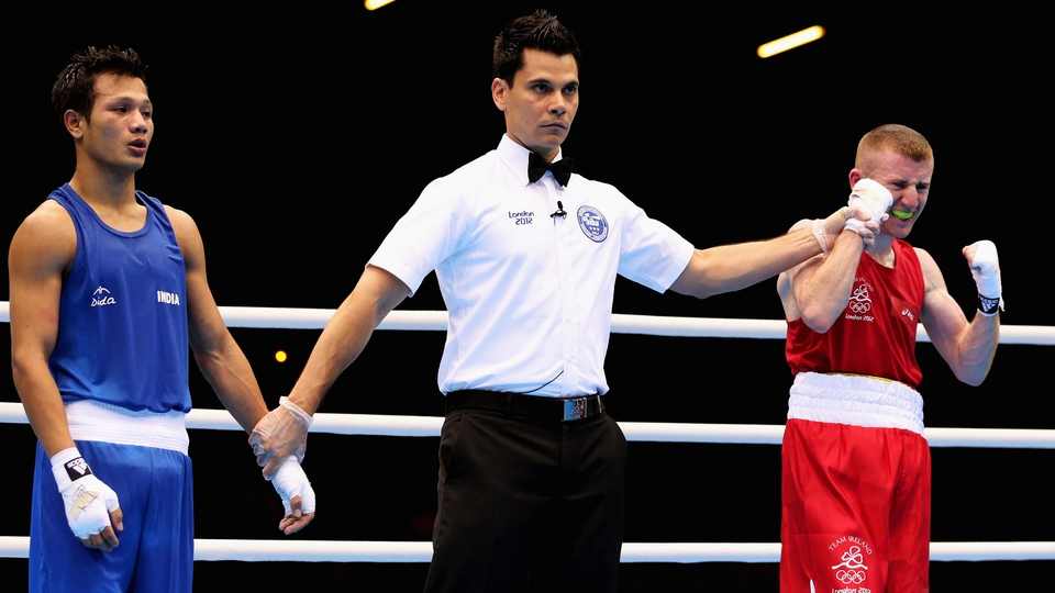 Paddy Barnes know there's another Olympic medal coming his way
