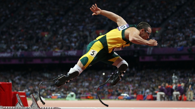 Oscar Pistorius took the gold medal in the very last race at the Olympics Stadium