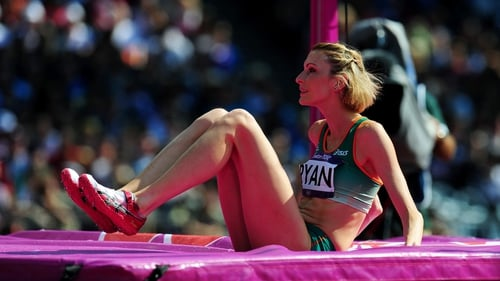 Deirdre Ryan failed to qualify for the final of the high jump