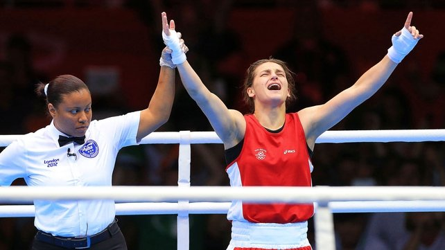 Taylor is only the second Irish boxer to win a gold medal
