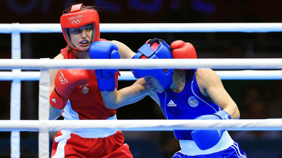 Her opponent Sofya Ochigava fought a clever fight and counter-punched with success